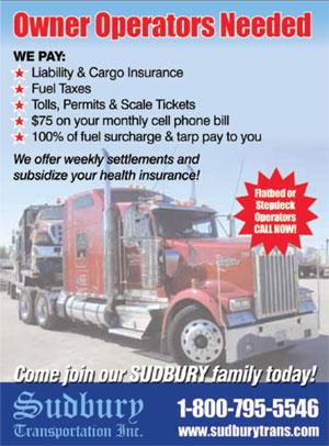Sudbury Transportation - Driver Application